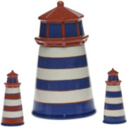 Lighthouse Cookie Jar and Salt and Pepper Grinders