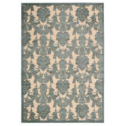Nourison® Chalet High-Low Carved Rectangular Rugs