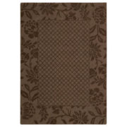 Nourison® Garden Tea Wool Rectangular Rug