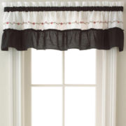Jayden Rod-Pocket Tailored Valance