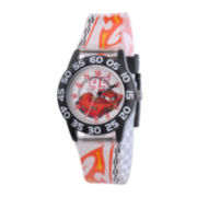 Disney Kids Time Teacher Cars Plastic Strap Watch