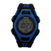 Spalding® Hard Court Black and Blue Watch