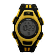 Spalding® Hard Court Black and Yellow Watch
