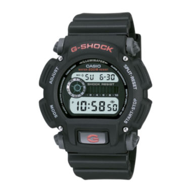 jcpenney.com | Casio® G-Shock Mens Digital Black Strap Watch DW9052-1V