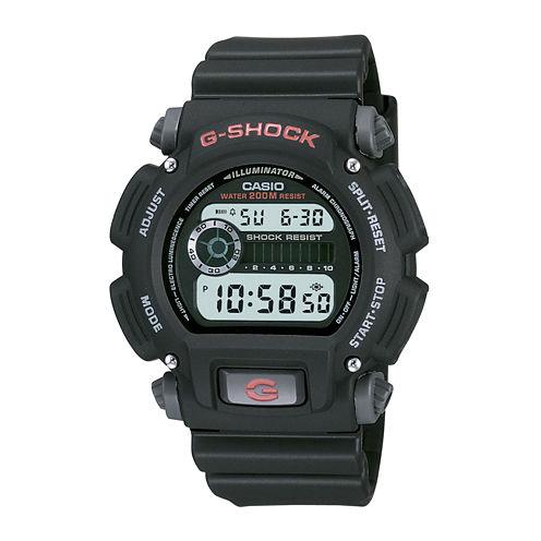 Casio® G-Shock Mens Digital Black Strap Watch DW9052-1V