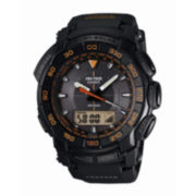 Casio® Pro Trek Mens Triple Sensor Tough Solar Watch
