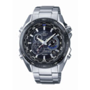 Casio® Edifice Mens Stainless Steel Multifunction Watch