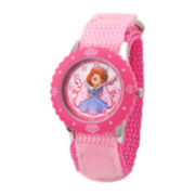 Disney Sofia Kids Time Teacher Pink Fast Strap Watch