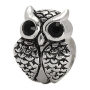 Forever Moments™ Crystal Owl Bead