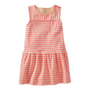 Carter's® Sleeveless Striped Dress - Girls 2t-4t