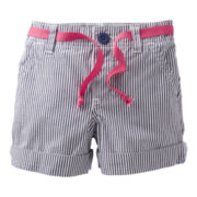Carter's® Woven Striped Shorts - Girls 5-6x