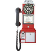 Crosley 1950s Style Pay Phone