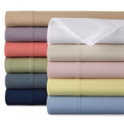 JCPenney Home™ 300tc Easy Balance Solid Sheet Set