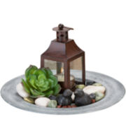 Dawning Lantern Candle Holder Tray