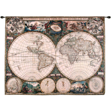 jcpenney.com | Old World Map Wall Tapestry