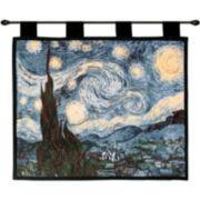 Starry Night, c.1889, Wall Tapestry