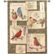 Art.com Clough-Songbirds Wall Tapestry