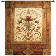 Art.com Crimson Blossom Wall Tapestry
