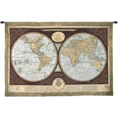 jcpenney.com | Art.com Map of the World Wall Tapestry
