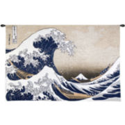 Art.com The Great Wave at Kanagawa, c.1829 Wall Tapestry