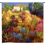 Spring Orchard Wall Tapestry