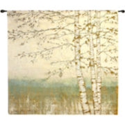 Art.com Birch Silhouette II Wall Tapestry