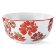 JCPenney Home™ Set of 4 Floral Soup Bowls