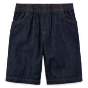 Okie Dokie® Pull-On Denim Shorts – Preschool Boys 4-7