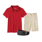 IZOD® Polo, Pleated Shorts or Reversible Belt - Boys 8-20