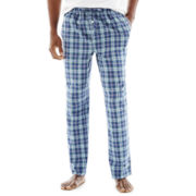 Stafford® Woven Dot Pajama Pants - Big & Tall