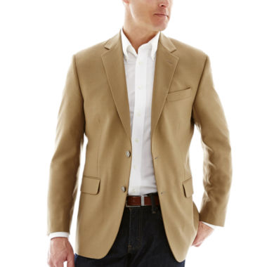 jcpenney.com | Stafford® Executive Tan Hopsack Blazer - Classic