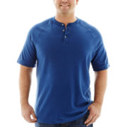 The Foundry Supply Co.™  Textured Henley-Big & Tall