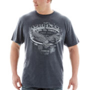 i jeans by Buffalo Casty Short-Sleeve Tee-Big & Tall