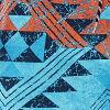 Aztec Print Stripe