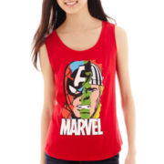 Marvel® Chiffon-Back Tank Top