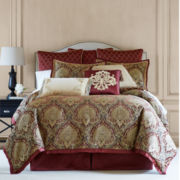 Royal Velvet® Jarvis 4-pc. Chenille Comforter Set & Accessories