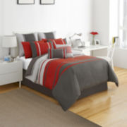 Izod® Beacon Stripe Comforter Set