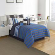 IZOD® Regatta Stripe Comforter Set