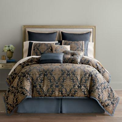 Home Expressions™ Selina 7-pc. Jacquard Comforter Set
