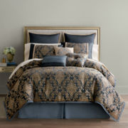 Home Expressions™ Selina 7-pc. Jacquard Comforter Set & Accessories