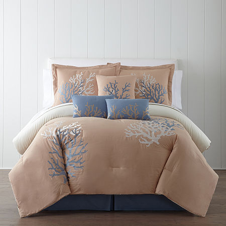 Panama Jack Coral Sea 7-pc. Comforter Set