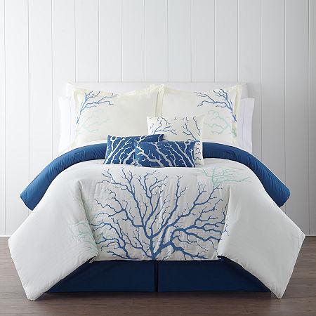 Panama Jack Coral 7-pc. Comforter Set