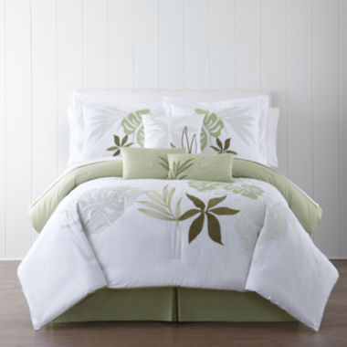 jcpenney.com | Panama Jack® Lagoon Tropical 7-pc. Comforter Set