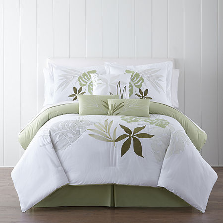 Panama Jack Lagoon Tropical 7-pc. Comforter Set