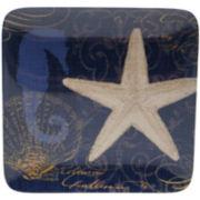 Certified International Coastal Moonlight Set of 6 Dinner Plates