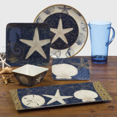 jcpenney.com | Certified International Coastal Moonlight Melamine Dinnerware Collection