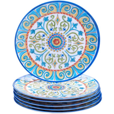 jcpenney.com | Certified International Tuscany Melamine Set of 6 Dinner Plates