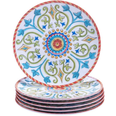 jcpenney.com | Certified International Tuscany Melamine Set of 6 Salad Plates