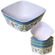 Certified International Tuscany Melamine 5-pc. Salad Serving Set