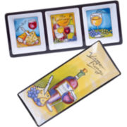 Certified International Wine Picnic Melamine 2-pc. Appetizer Set